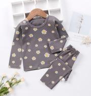 Children's Winter Lycra Autumn Clothes and Long Pants Suit