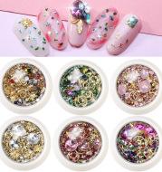 New Nail Art Jewelry Nail Diamond Nail Rivet