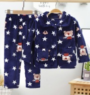 Children's Thickened Middle-aged Children's Home Service Suit