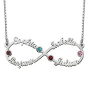 Eight Character Necklace, Infinite Name, Customized Jewelry