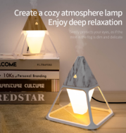 Portable Air Humidifier Night Light USB Cool Mist Maker Purifier Aromatherapy Aroma Essential Oil Diffuser