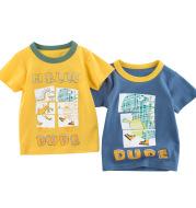 Korean Children's Short Sleeved Boy's T-shirt Baby