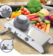 Slicer Manual Vegetable Cutter for Kitchen Terka Adjustable Stainless Steel Knife