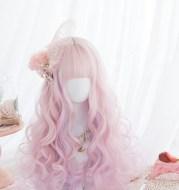 Harajuku Cute Girl Cute Wig Female Long Curly Hair