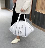 Personality Reflective Mask Female Fashion Shoulder Bag