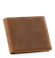 Horse Leather Men Wallet Leather Wallet Men Ultra-Thin Casual Short Wallet