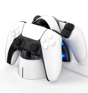 Controller Charger Curved Dual Charging Base Dock for PS5