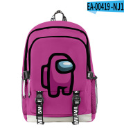 Saturday Clothing New Style Among Us Fashion 3D Backpack