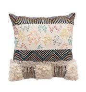 European Style Woven Home Plain Pillow Sofa Cushion