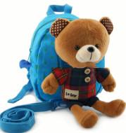 New Cute Anti-Lost Children Cartoon Schoolbag