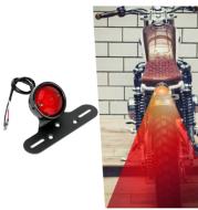 Motorcycle Retro LED Tail Light Brake Warning Light