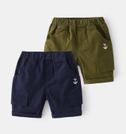2021 Summer Boys And Children's Five-Quarter Pants