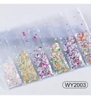 Nail Art Accessories Glitter Sequins Laser Diamond Love Heart Nail Patch