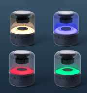 Four-Color Light Touch Wireless Bluetooth Speaker