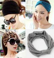 Elastic Cotton Sports Headbands