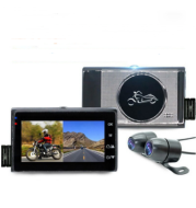 1080P  Locomotive Motorcycle Driving Recorder Split-type Front And Rear Waterproof Double Lens Riding Recorder