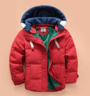 Children's down jacket boy 2021 new Korean version of the thickening down jacket in the children's winter clothing