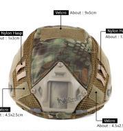 DIY Camouflage Helmet Cover