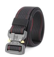 New Cobra buckle tactical belt male army fan rappelling nylon inner belt training belt special forces 3.8cm