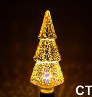 3D Fireworks Christmas Bulbs