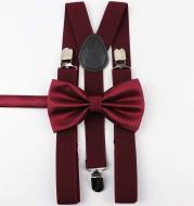Suspenders Bowtie Sets
