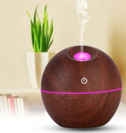 USB Aroma Essential Oil Ultrasonic Cold Steam Diffuser Air Humidifier Purifier 7 Color Change LED Night Light for Home Office