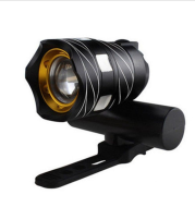 New bicycle USB light Highlight warning light Mountain bike headlights Charging headlight accessories