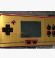 Cool child RS-20 handheld game console classic nostalgic FC handheld red and white machine 600 models are not repeated games