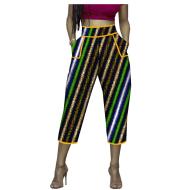 Batik print pencil pants