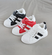 Shell-toe non-slip toddler shoes with Velcro for men and women