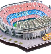 DIY 3D Puzzle World Football Stadium European Soccer Playground Assembled Building Model Puzzle Toys for Children GYH