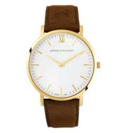 Men's European and American fashion couple quartz watch