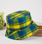 Large lattice children's fisherman hat