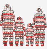 Christmas parent-child suit