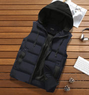 Warm padded vest vest