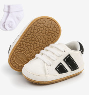 Baby TPR soft-soled non-slip toddler shoes