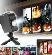 Halloween Party Projector Lamp