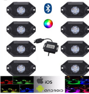 Undercarriage led off-road modified colorful atmosphere light