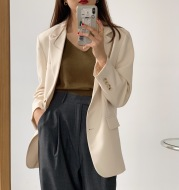 Loose casual suit jacket