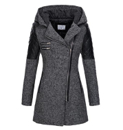 Woolen trench coat