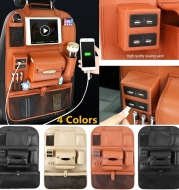 Car backrest storage bag seat multifunctional storage seat
