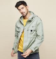 Multi-pocket work jacket