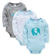 Long sleeve baby clothes cartoon newborn clothes