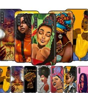 Samsung Galaxy African Girl Art Phone Case