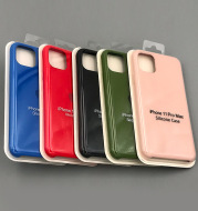 New liquid silicone official phone case