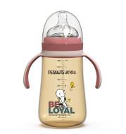Baby bottle with handle
