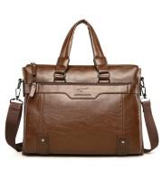 Men's handbag shoulder business computer bag