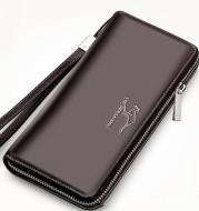 Multi-card slot large capacity zipper long bag