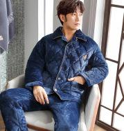 Winter thick men's pajamas
