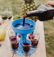 Wine Dispenser Wine Glass Funnel 6-port Wine Dispenser Beverage Dispenser